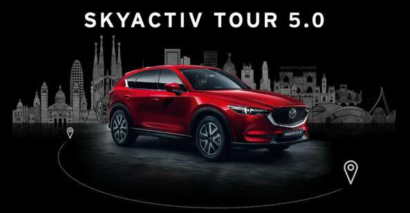 Logo Mazda SKYACTIV Tour 5.0